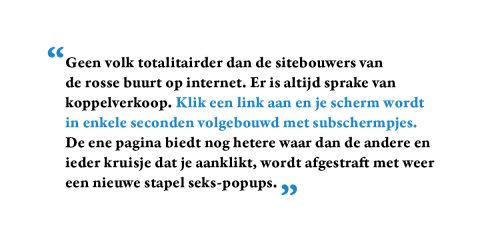 Site spotting: columns over websites (2001)