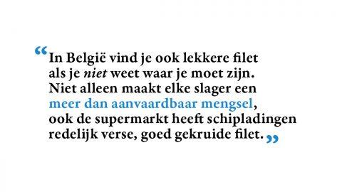 België – Nederland: filet americain