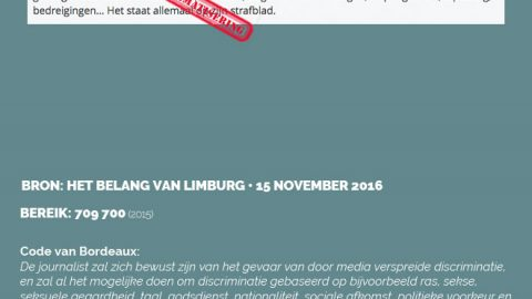 Het Belang van Limburg • 15 november 2016