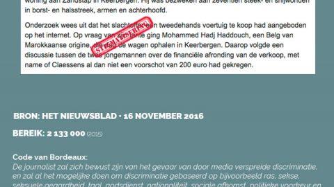 Het Nieuwsblad • 16 november 2016
